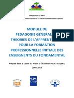 12. Pedagogie Gnle Et Theoories de l'Apprentissage VF