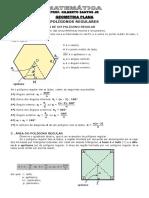 1-Apostila Geometria - Polígonos Regulares (4 Páginas, Com 17 Questões)