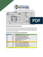 Interpretación PID. Proceso de Mezcla de Elementos