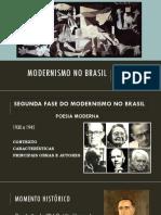 Autores 2º Fase Modernistas
