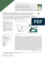Acidos orgánicos contra paraquat en hojas de calabaza