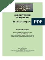 Surah Yaseen - A Detailed Analysis