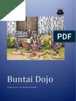 Buntai Dojo Creating Your Own Buntai in Daisho