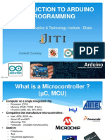 Arduino Lecture v1