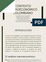 Contexto Macroeconómico Colombiano
