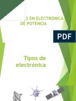 Tendencia Electronica de Potencia