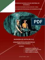 2013. Analisis de Costos Unitarios - Mineria