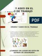 Orden y Aseo en El Puesto de Trabajo