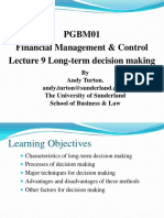 Financial Management Note 9