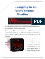 Data Logging in an Aircraft Engine Monitor