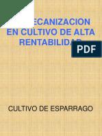 TRUJILLO La Mecaniz.en Cultiv Alta Rentabil.. Esparag. Caña Azucar