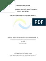3.2 Identificación de Procesos Estratégicos y Misionales de Una Institución Educativa La Caspilla