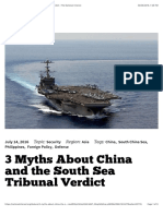 3 Myths About China and the South Sea Tribunal Verdict | The National Interest