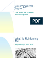 Chapter 7 Reinforcing Steel