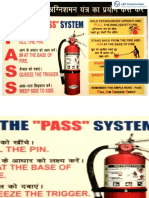 Fire Extingusher Safety Poster