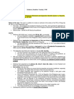 Testimonial Evidence Case Digests (1)