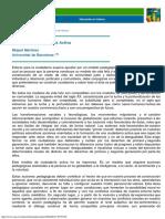 MARTINEZ, M. - Educacion y Ciudadania Activa