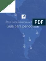 Cubrir Elecciones Facebook