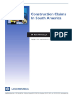 Long Intl Construction Claims in South America