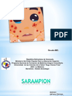 presentacion SARAMPION