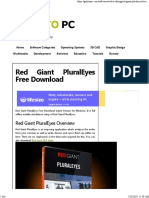03 - Red Giant PluralEyes Free Download