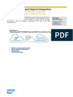 Integration Scenario for SAP S_4HANA Cloud With SAP SuccessFactors Employee Central