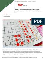 Blood Donation 1