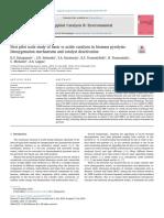 First Pilot Scale Study of Basic vs Acidic