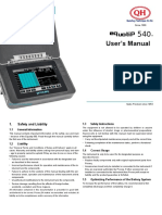 User's Manual Equotip 540