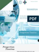 Referat Dr Novi - Tinnitus