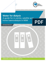 Water for Dialysis 2016