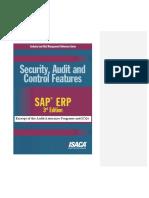 SAP ERP AUdit Assurance Program
