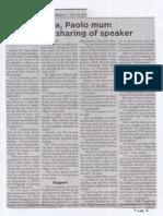 Philippine Star, July 10, 2019, Sara, Paolo mum on term sharing of Speaker.pdf