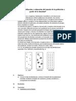 Distribución y Estimación Del Tamaño de La Población a Partir de La Densidad