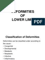 5 Deformities of Lower Limb NCB