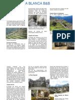 Informacion Machu Picchu