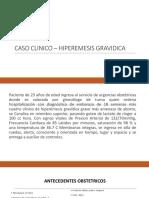 Caso Clinico – Hiperemesis Gravidica