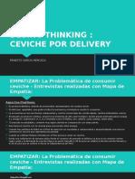 Desing Thinking Cevichería