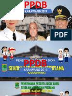 Sosialisasi PPDB SMP 2019