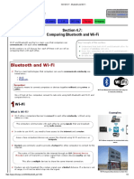 IGCSE ICT - Bluetooth and Wi-Fi