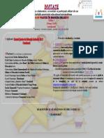 """Simpozion Internaţional """"Bune practici în educaţia incluzivă"""", ediţia I, 29 mai 2019, Comăneşti, România"""