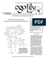 Sep-Oct 2010 Sego Lily Newsletter, Utah Native Plant Society
