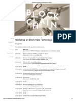 a blockchain workshop
