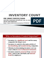 Inventory Count BY HM RANA