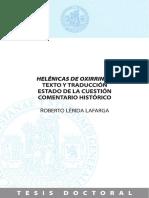 Roberto Lérida Lafarga - Helénicas de Oxirrinco.pdf