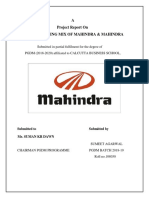 PROJECT ON MAHINDRA.docx