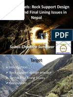 6 Sunuwar Subas Hydro Tunnels Rock Support Design and Lining Issues NTA Conference 2018