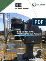 Tobee® Warman SP/SPR Vertical Slurry Pumps