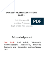 Multimedia Systems -1