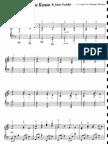 14667545 Pachelbel Canon Piano George Winston Sheet Music